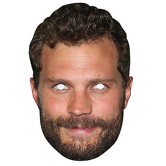 Jamie Dornan 2D Single Card Party Fancy Dress Mask