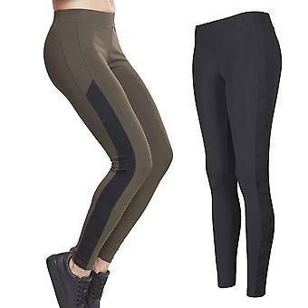 Urban classics ladies - Jacquard Camo Fitness Sports leggings