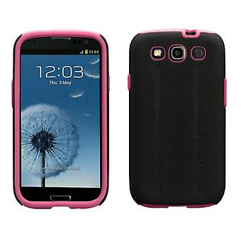 Case-Mate Tough Case for Samsung Epic Touch 4G SPH-D710 (Black/Pink)