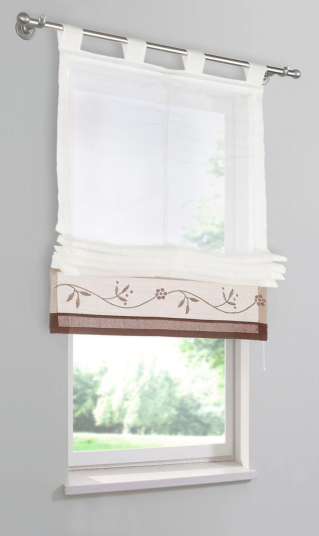 «Mit hjem romerske skygge» Sorel «gennemsigtig smykker kant sløjfer H/W 140/60 cm.
