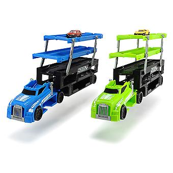 Dickie Toys Stack and Store Transporter Car Transporter with Space for 36 Cars