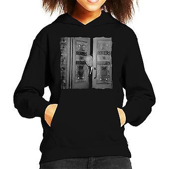 TV volte Alfred Hitchcock i Rovers ritorno Hooded Sweatshirt 1964 capretto
