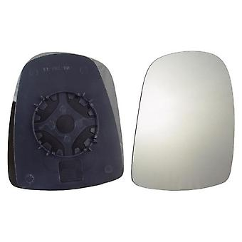 Right Mirror Glass (not Heated) & Holder For VAUXHALL VIVARO van 2001-2014