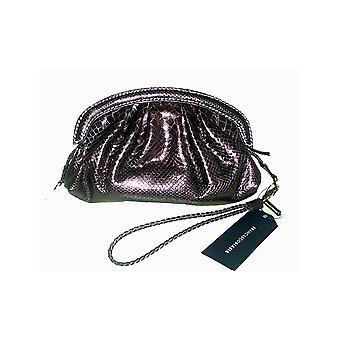Francesco Biasia Gold Secret Love Skin Effect Clutch Bag