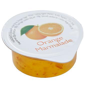 Rango país porciones de mermelada de naranja
