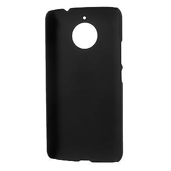 Lenovo Moto E Plus (E4 Plus) conchiglia di plastica Peel Rubberized-Black