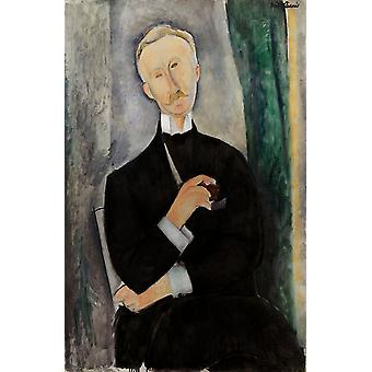 Roger DUTILLEUL, Amedeo Modigliani, 60x40cm