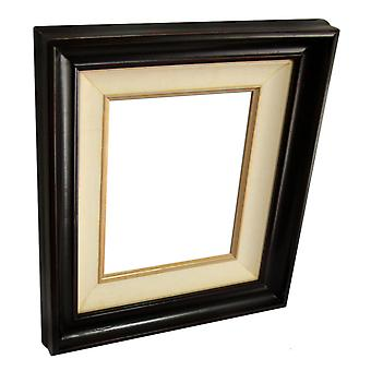 20x25 cm or 8x10 inch, photo frame in brown