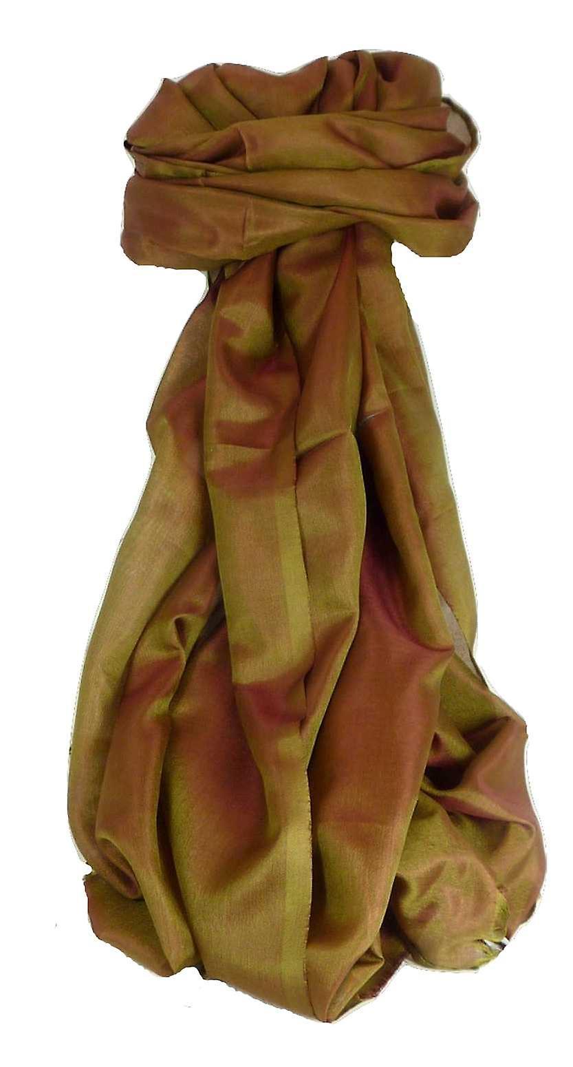 Varanasi Silk Long Scarf Heritage Range Anand 5 Blush by Pashmina & Silk