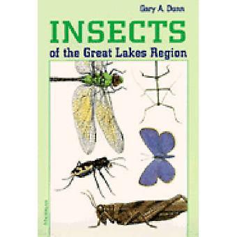 Insectos de la región de los grandes lagos de Gary A. Dunn - libro 9780472065158