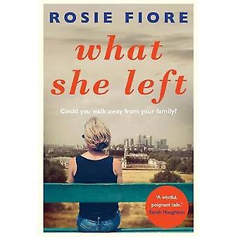 Mitä hän jäljellä Rosie Fiore - 9781760292492 kirja