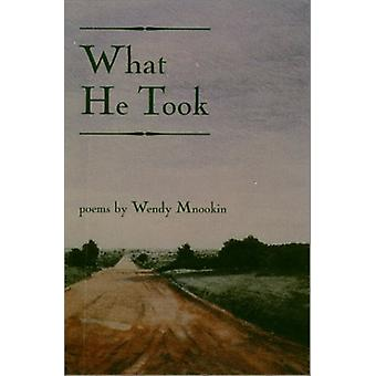 What He Took by Wendy Mnookin - 9781929918195 Book