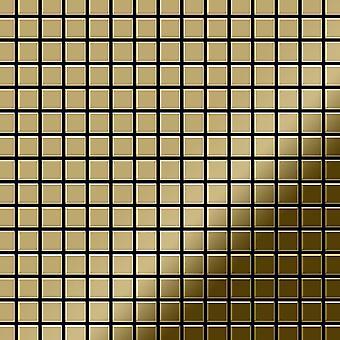 Metal mosaic Titanium ALLOY Mosaic-Ti-GM