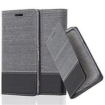Cadorabo Hülle für Sony Xperia M4 AQUA Case Cover - Handyhülle mit Magnetverschluss, Standfunktion und Kartenfach – Case Cover Schutzhülle Etui Tasche Book Klapp Style