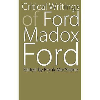 Kritiska handstilar av Ford Madox Ford