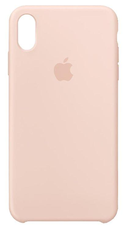 Original Packaging MTFD2ZM/A Apple Silicone Microfiber Cover Case for iPhone XS Max - Sand pink