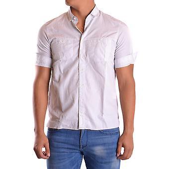 Neil Barrett Ezbc058014 Men's White Cotton Shirt