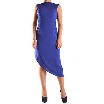 Liu Jo Ezbc086014 Women's Blue Viscose Dress