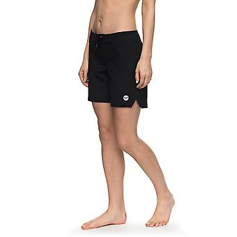 Roxy Womens To Dye 7 BoardShorts - Anthracite Black