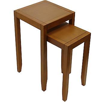 Bárhol-a két oldal/vége asztalok tömörfa fészke-dió Effect