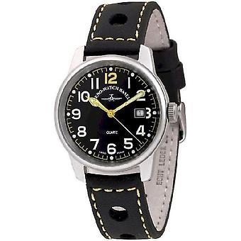 Zeno-watch mens watch data pilota classico 3315Q-opaco-a19