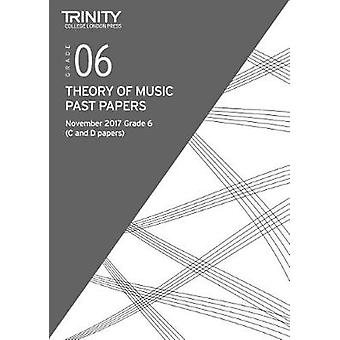Trinity College London - Past Papers - Theory (Nov 2017) Grade 6 - 9780