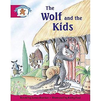 Literacy Edition Storyworlds Fase 5, C'era una volta il mondo del tempo, il lupo e i bambini
