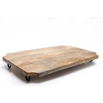 50x30cm Tavola di taglio in legno sulle gambe forte