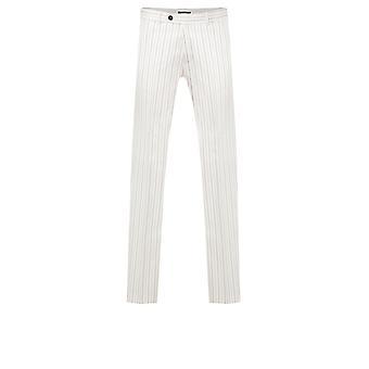Avail London Stein Anzug Jacke Skinny Fit Navy Pinstripe