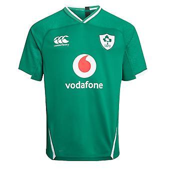 Canterbury Irland IRFU Rugby Home Pro skjorta   Bosphorus   2019   Barn