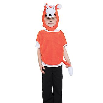 Bristol Novelty Childrens/Kids Fox Tabard Costume