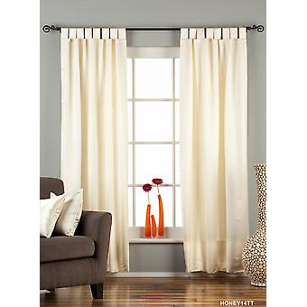 Creme Tab Top 90 % Verdunkelung Vorhang / drapieren / Panel - Stück
