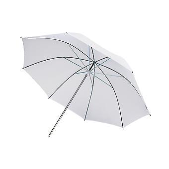 BRESSER SM-02 doorschijnend paraplu wit 84 cm