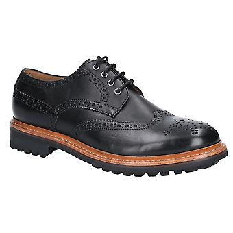 Cotswold Mens Quenington Commando Leder geschnürt Oxford Schuhe