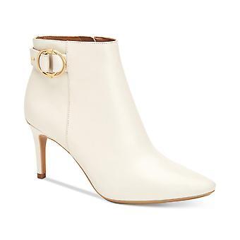 Calvin Klein Womens Jailene Leder Spitz Zehen Knöchel Mode Stiefel