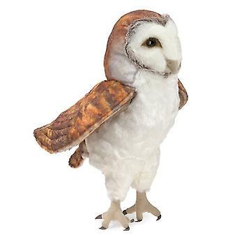 Hand Puppet - Folkmanis - Barn Owl New Toys Soft Doll Plush 3124