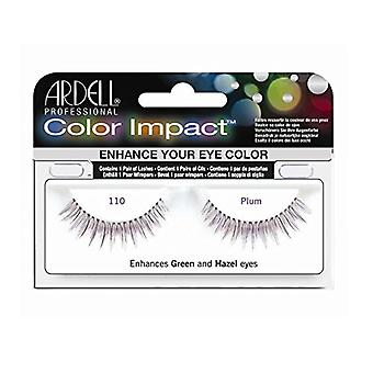 Ardell Color impact wimpers-pruimenpaars-110
