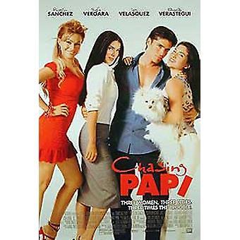 Perseguindo o Papi (único partido regular) poster original do cinema