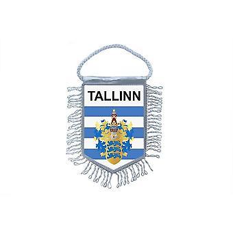 Flag Mini Flag Country Car Decoration Souvenir Blason Talinn Estonia