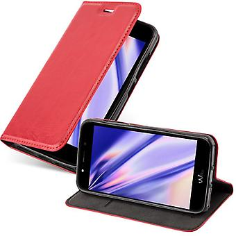 Futerał Cadorabo do obudowy WIKO WIM LITE - etui na telefon komórkowy z magnetycznym zapięciem, funkcją stojaka i komorą na kartę - Obudowa ochronna Case Book Folding Style