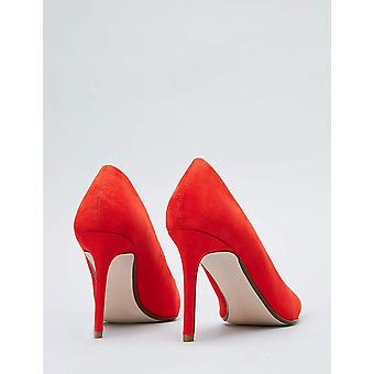 Amazon Brand - find. Women's Mary Jane Pump Red), US 7.5