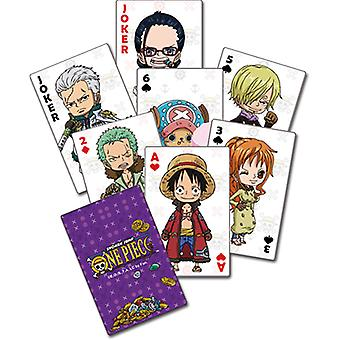 Playing Cards - One Piece - Group New Licensed ge51595
