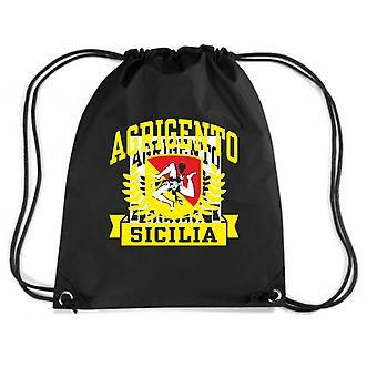 Black backpack dec0463 Agrigento Sicilia