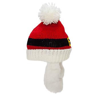 Mens Santa Pompom Hat And Beard