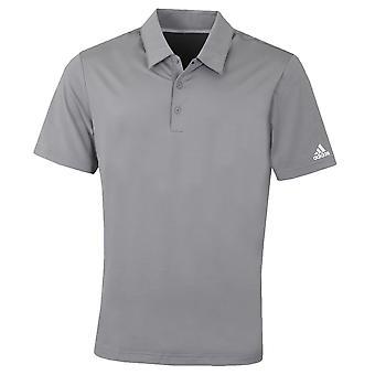 adidas Golf Mens Ultimate 2.0 Solid Crestable UV Protect Polo Shirt