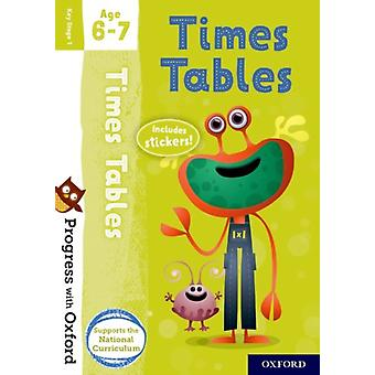 Progress with Oxford Times Tables Age 67 by Robinson