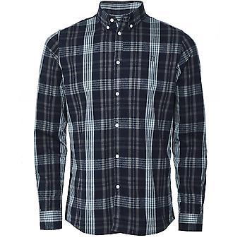Les Deux Flannel Cotton Check Valence Shirt