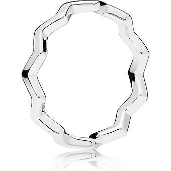 Anillo 197752 - anillo zig-zag Pandora mujer intemporal