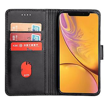 CaseGate phone case for Apple iPhone XR case cover - lock, stand function and card compartment