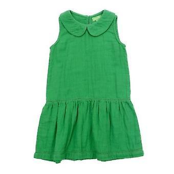 Lily Baba Rosalina robe mousseline vert gazon
